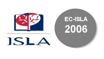 """Apresentação Pública do Artigo """"Comunicação, História, Organização e Protocolo relacionados com a Candidatura, Selecção e Atribuição do Título de """"Património Mundial"""" por Égide da UNESCO"""" no EC-ISLA'06 - ÍNDICE"""